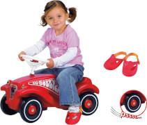 BIG-BOBBY-CAR mit Flüsterrädern und Schuhschohner