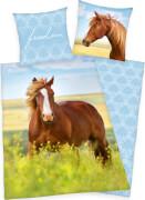 Pferde Bettwäsche, 135 x 200 cm
